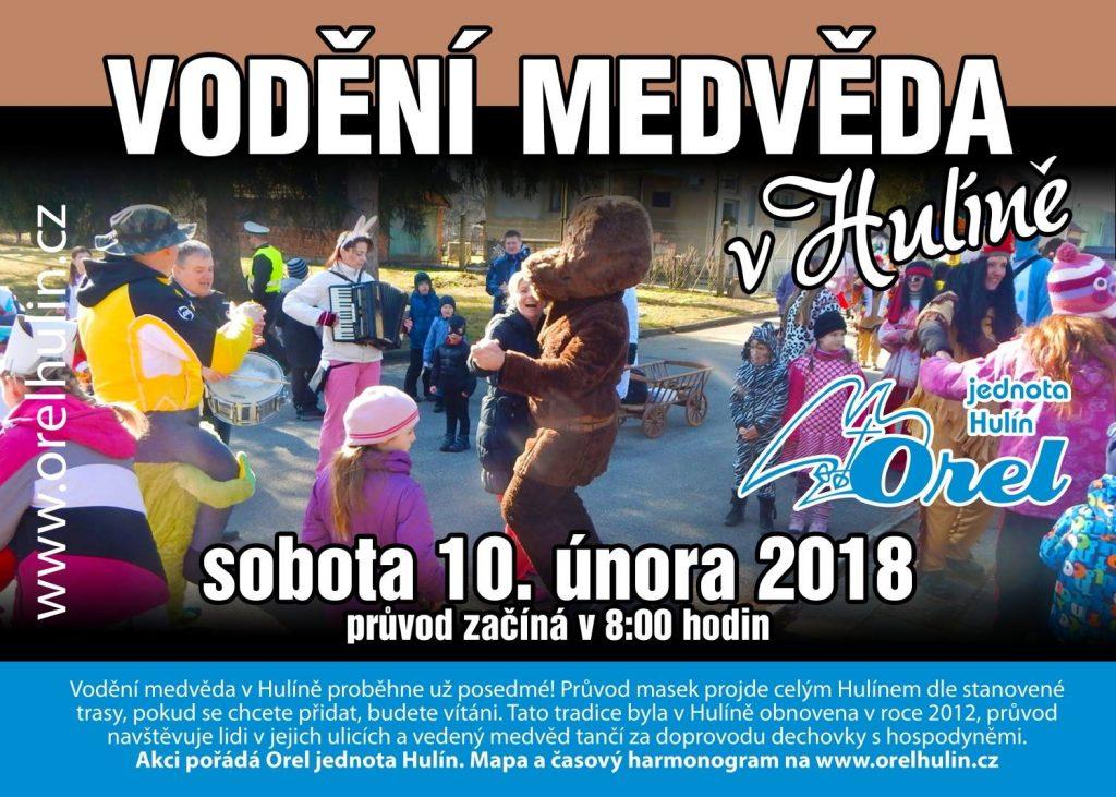 Vodění medvěda 2018