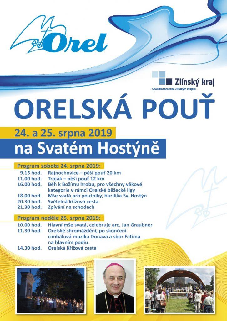 Plakát Orelská pouť 2019